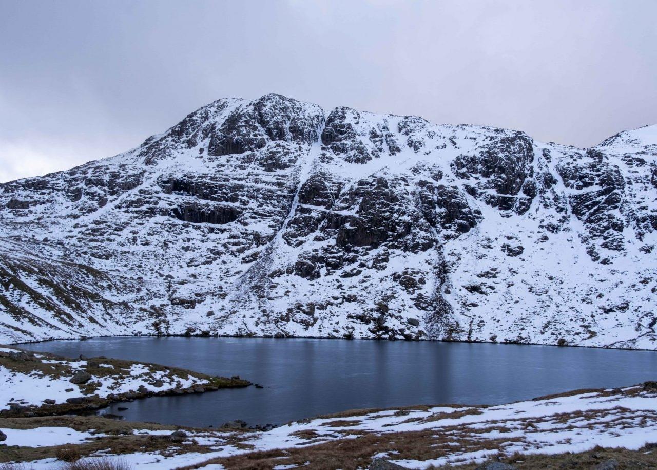 February - Bowfell & Angle Tarn