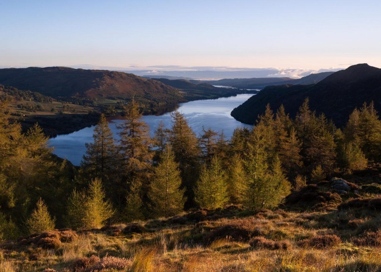 October - Ullswater from Glencoyne