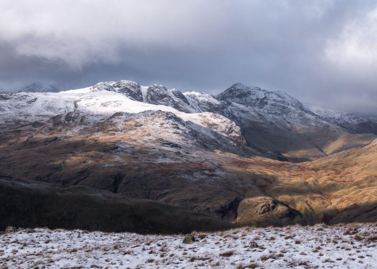 December - Crinkle Crags & Bowfell